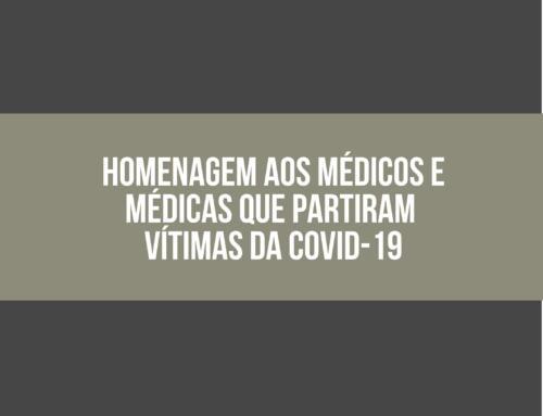 Homenagem aos nossos colegas, médicos e médicas do RN vítimas da Covid-19