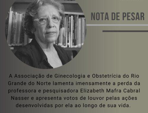 Nota de pesar pela morte da professora e pesquisadora Elizabeth Nasser