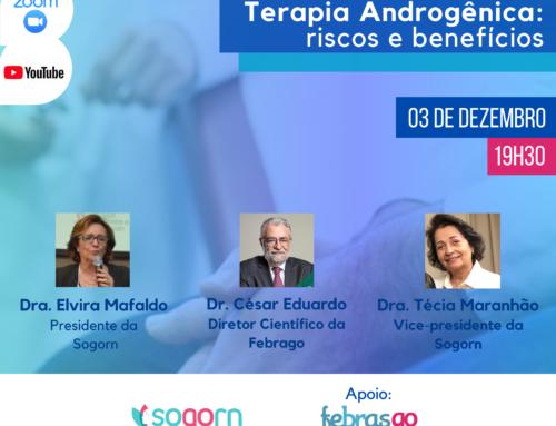 Terapia Androgênica é tema de evento virtual nesta quinta-feira (03)
